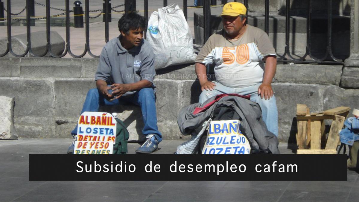 Subsidio de desempleo cafam