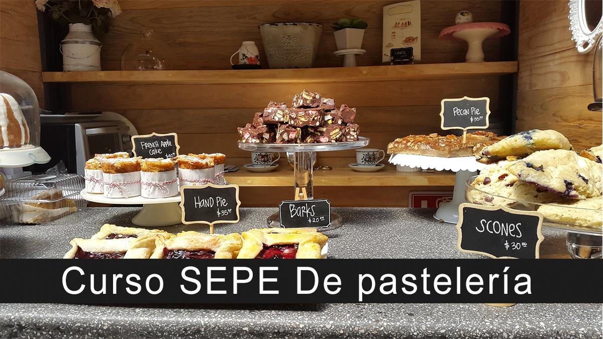 Curso SEPE De pastelería