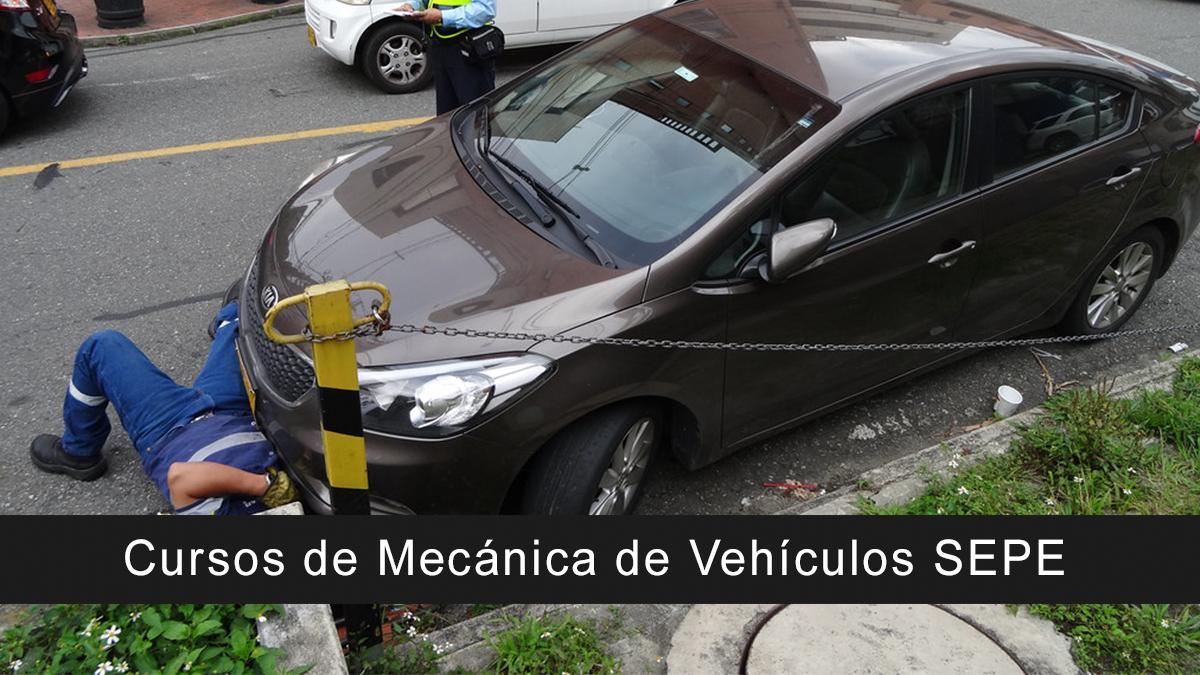 Cursos de Mecánica de Vehículos SEPE