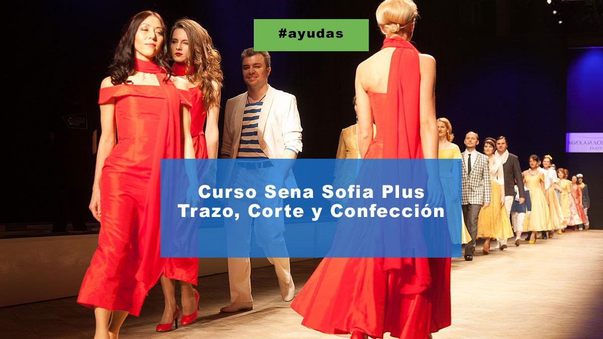 Curso Sena Sofia Plus trazo corte y confección
