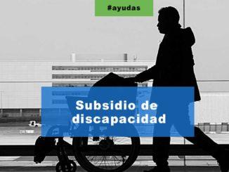 Subsidio de discapacidad