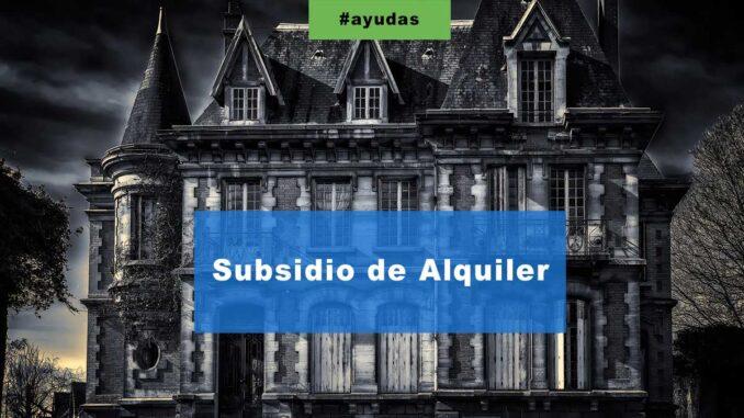 Subsidio de Alquiler