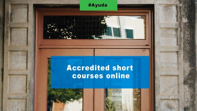 Accredited short courses online